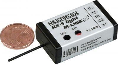 MULTIPLEX Empfänger RX-5 light M-LINK 2.4 GHz (55808)
