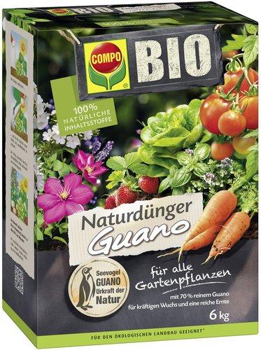 Compo NaturDünger Guano 6kg