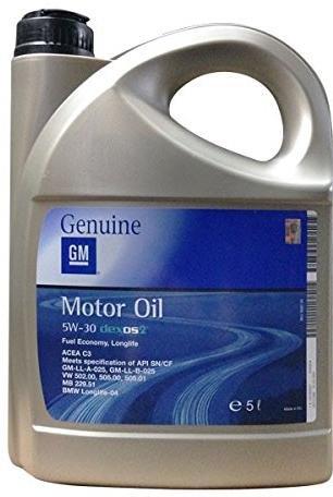 Genuine GM Dexo II 5W-30 (5 l)