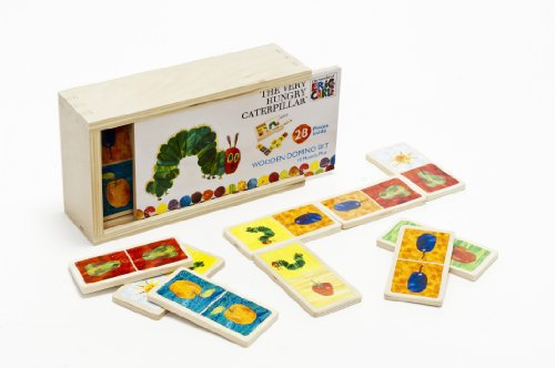 Rainbow Designs Very Hungry Caterpillar Wooden Domino Set (englisch)