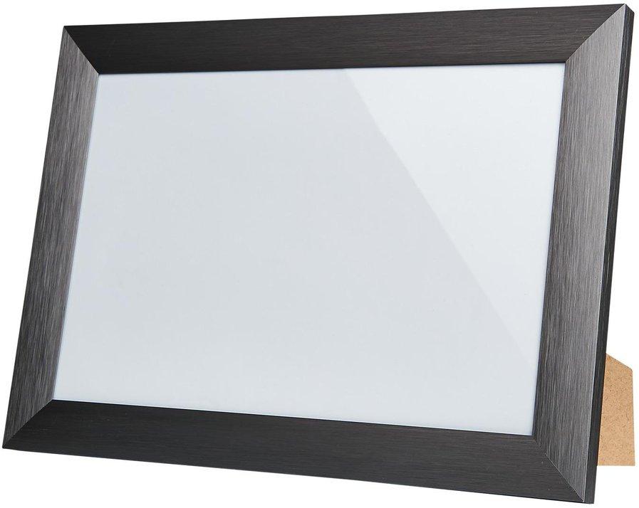 NEU 2x Holz Bilderrahmen 20x30 Platin Rahmen Bild Foto