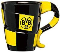BVB Brustbeutel Geldbeutel im Comic-Design Borussia Dortmund