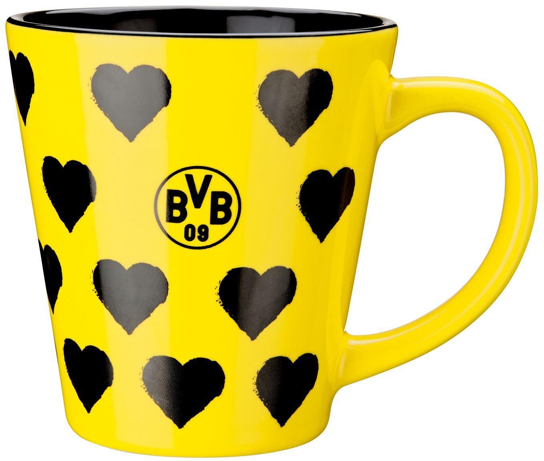 BVB Weihnachtstasse Tasse Becher Borussia Dortmund