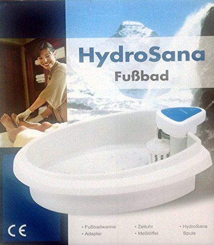 Detox Elektrolyse Fußbad Hydrosana 3 Spulen