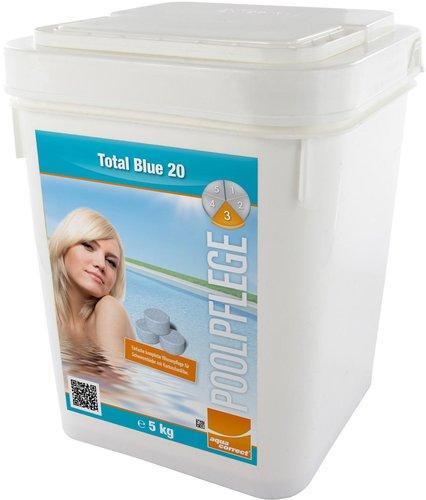 Intex Pools Komplett-Wasserpflege Total Blue 20g - 5 kg (70325)