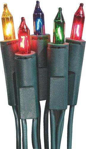 Hellum Mini-Lichterkette 35er bunt