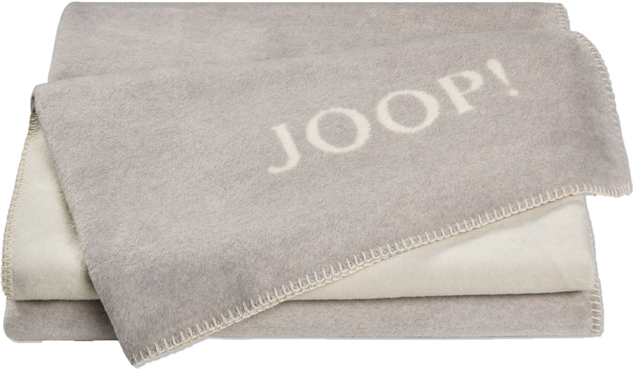 Decke Wohndecke Melange Doubleface Graphit-Ecru 739223 150x200cm TIPP! JOOP