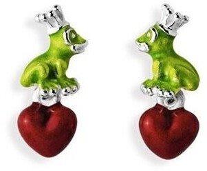 Heartbreaker Froggy Herz Silberstecker (LD FG 23 GR)