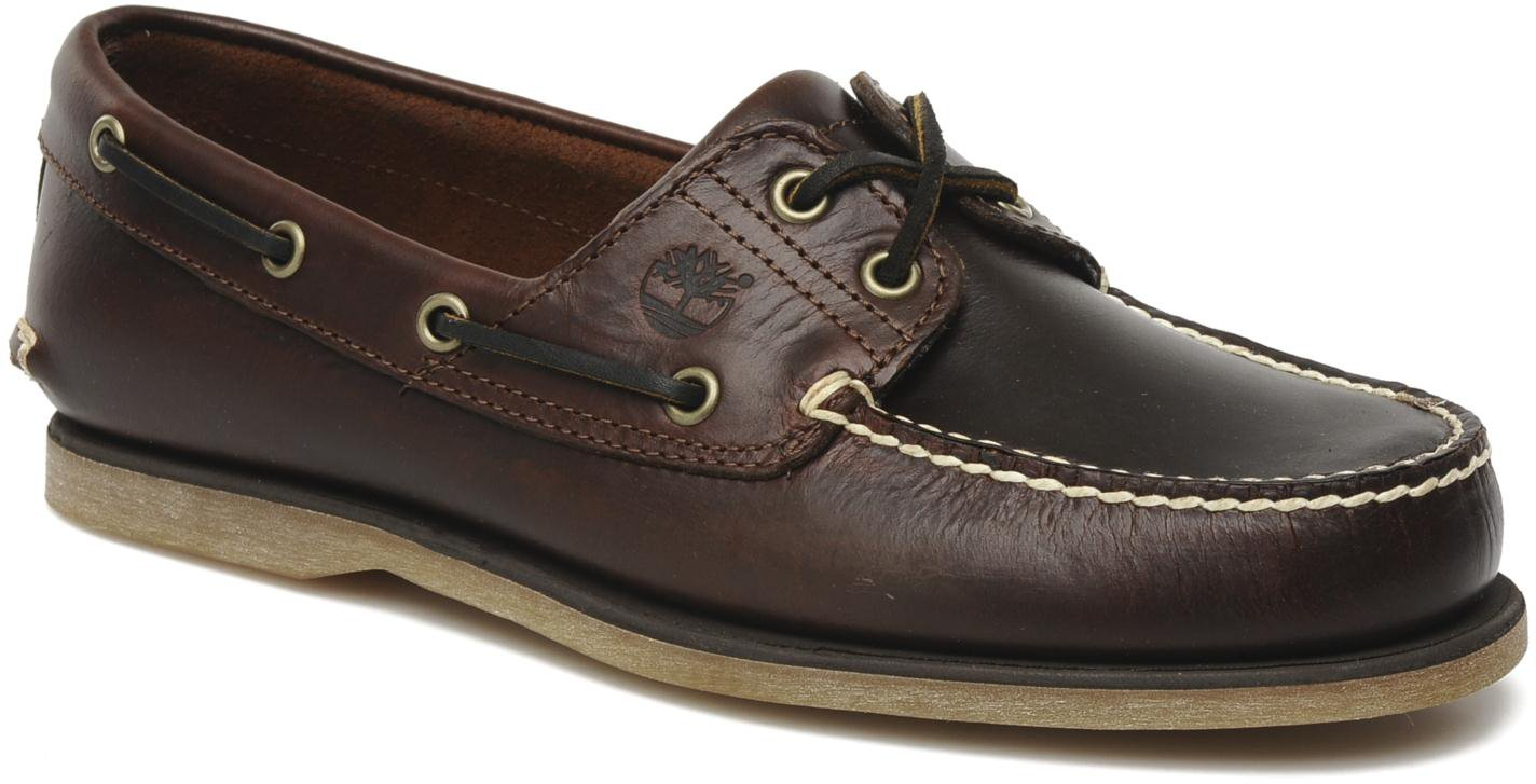 Timberland Classic 2 Eye Boat Shoe Rootbeer Smooth 25077