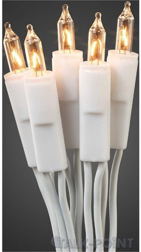 Hellum Mini-Lichterkette 20er weiß/klar