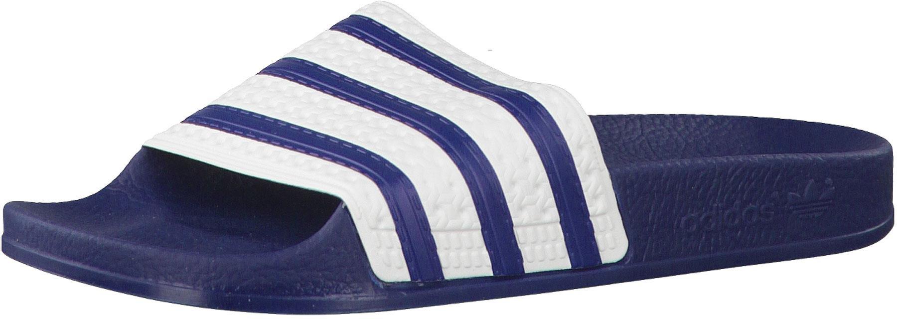 adidas Originals Adilette Blau Weiß