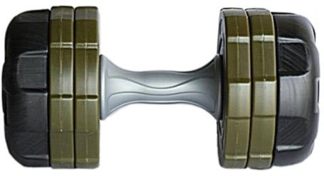 Ultrasport Anti-Roll Hantel 20 kg