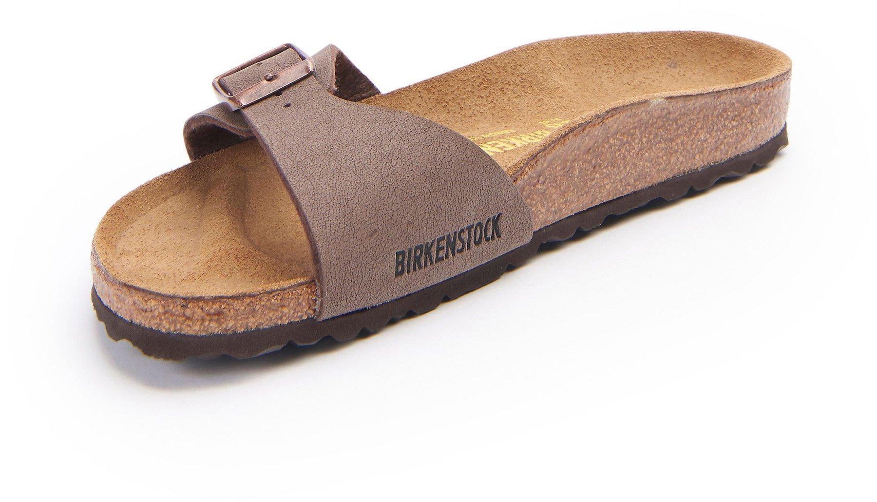 newest 28f1c db8d9 Birkenstock Madrid Birko Flor mocca