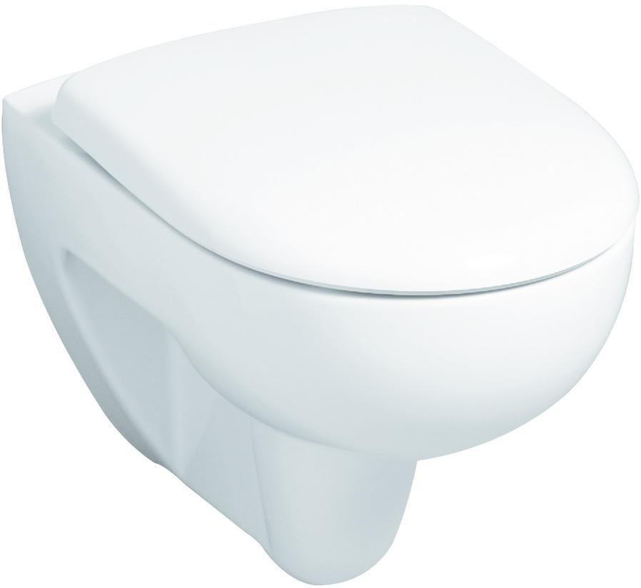 edst weiß antibak durchg Scharn... m Geberit KG Renova Nr.1 Comfort WC-Sitz