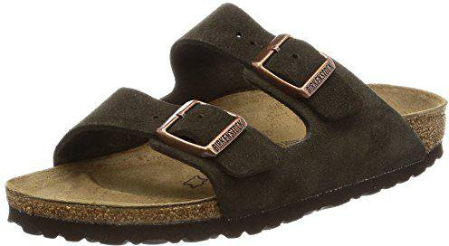 8228a502be617 Birkenstock Arizona Veloursleder mokka