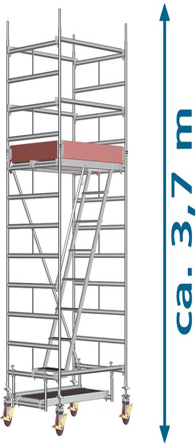 layher Uni Treppengerüst 4202 AH 6,50 m