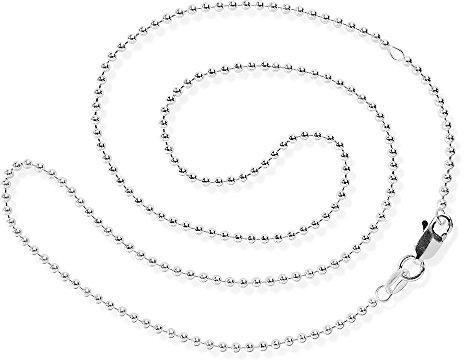 Heartbreaker Silberkugelkette mittel 45 cm (HB 180 BC)