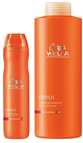 Wella Care Enrich Volumen Shampoo (500 ml)