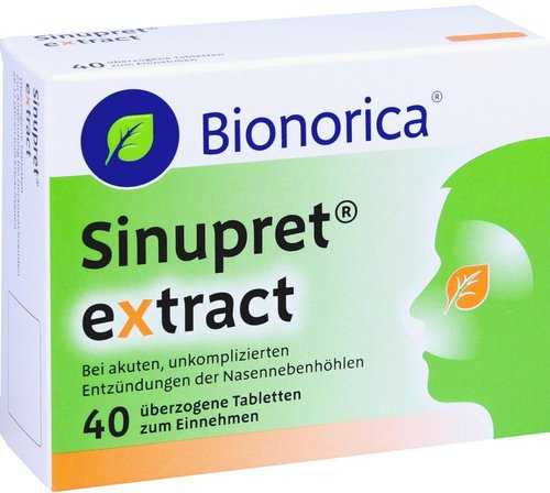 Bionorica Sinupret Extract Tabletten (40 Stk.)