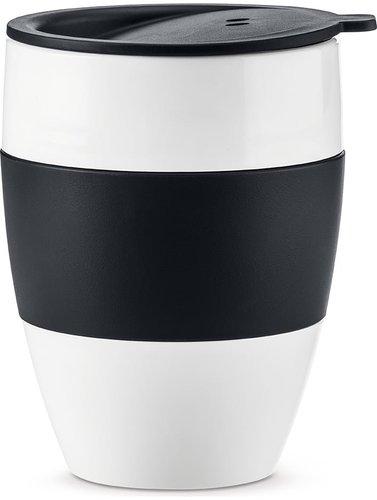 Koziol Aroma To Go Thermobecher mit Deckel schwarz