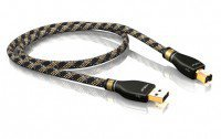 ViaBlue KR-2 Silver USB-Kabel 2.0 A/B 10m (21034)