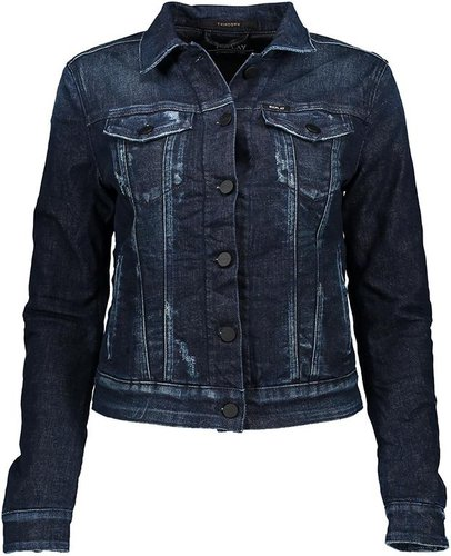 size 40 90946 eff68 Replay Jeansjacke Damen