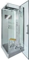 Th AcquaVapore DTP6038-2001R Dusche Duschtempel Komplett Duschkabine 100x100