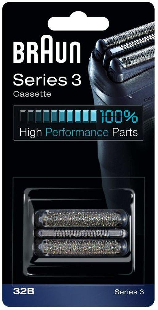 32S Cassette Series 3 BRAUN Kombipack 21B NEU/&OVP Kompatibel mit Scherkopf 32B