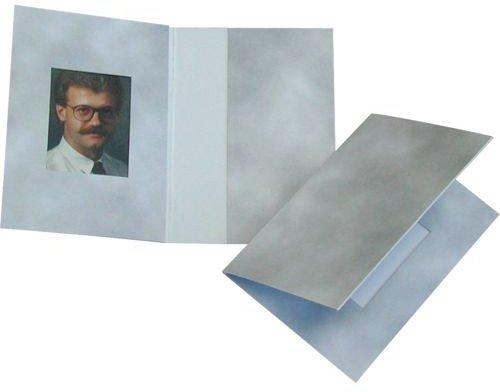 Daiber 1x100 Passbildmappen 3,1x4,2 Wolkendesign