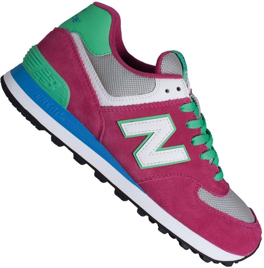 new balance sneaker wildleder pink