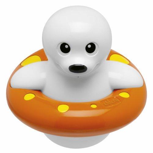 Chicco Babyspielzeug Seehund Spritz und Schwimm
