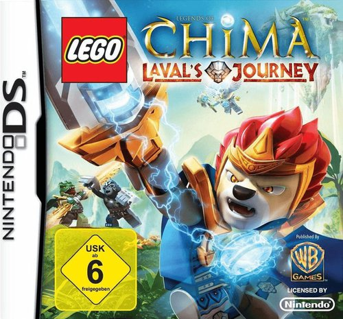 Lego Legends of Chima: Laval's Journey (DS)