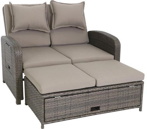 Favorit Testrut Bahia Loungesofa 2-Sitzer (Polyrattan) günstig bestellen✓ EX38