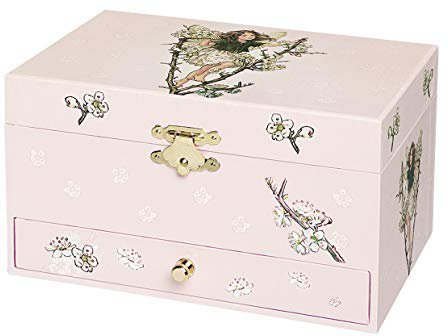 Trousselier Musical Jewellery Box Cherry - Flower Fairies Musikdose/Schmuckschatulle (60614)