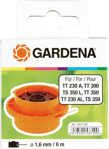 Gardena Ersatzfadenspule für 2550/2555/2544/2546 Turbotrimmer (5371-20)