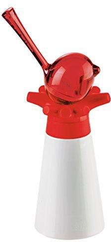 Koziol PI P Pfeffermühle mit Salzstreuer solid himbeer