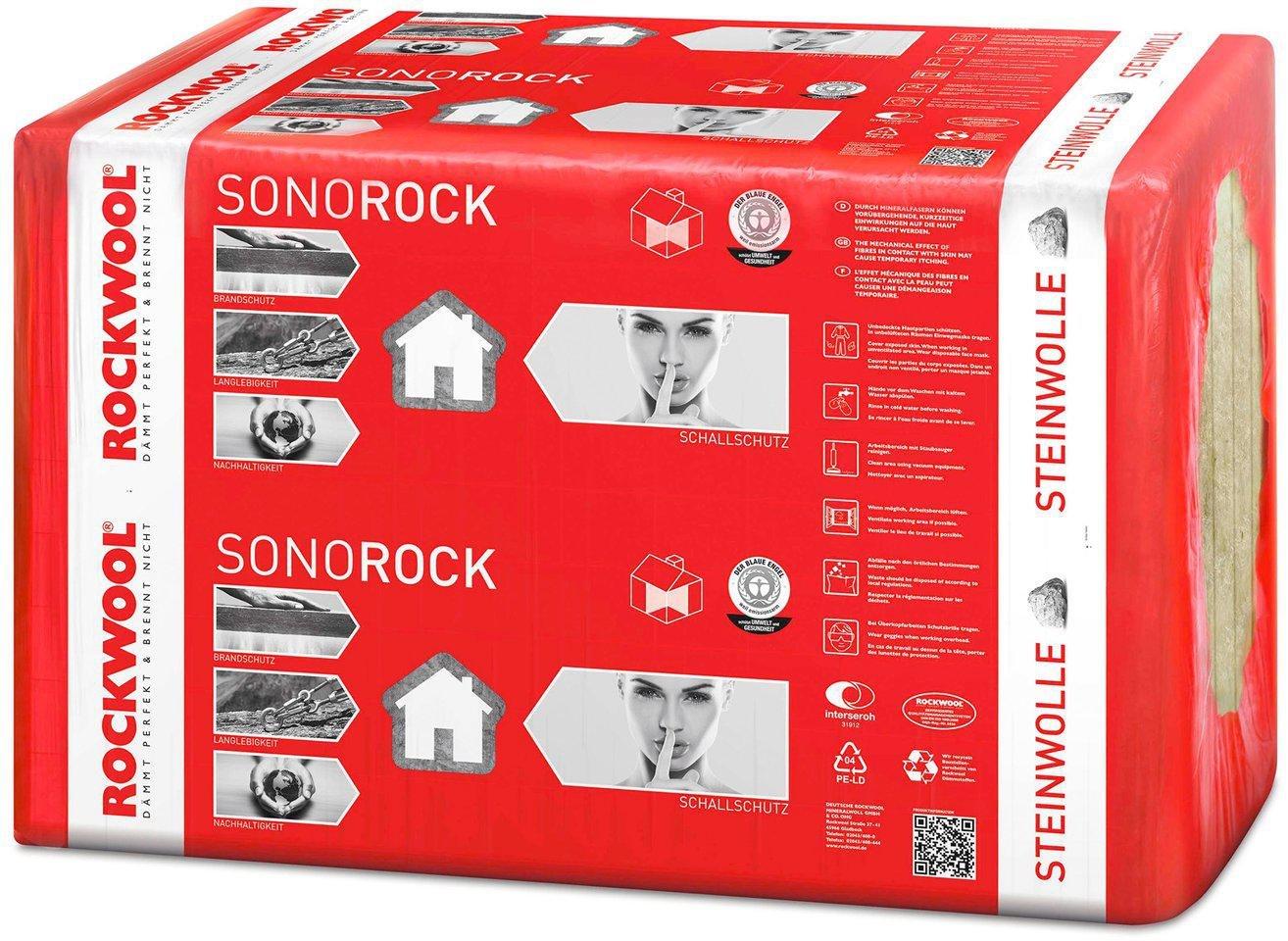 Rockwool Trendwandplatten 60 mm 5,63 m/² Mineralwolle W/ärmeschutzplatte D/ämmung 5,32 Euro//m/²