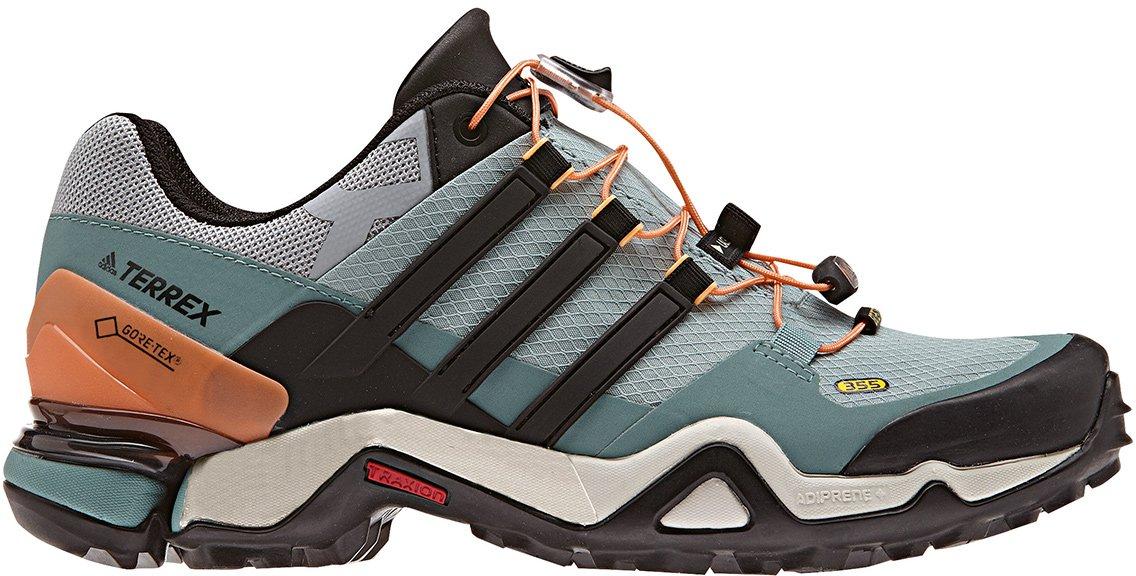 adidas Terrex Fast R Mid GTX Damen Outdoorschuhe grau Outdoor Schuhe