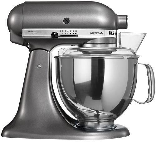 Kitchenaid Artisan Kuchenmaschine Medaillon Silber 5ksm150ps Ems