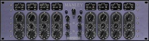 Manley Massiv Passiv Stereo Mastering Equalizer