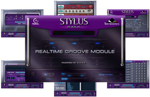 Spectrasonics Stylus RMX Realtime Groove Module