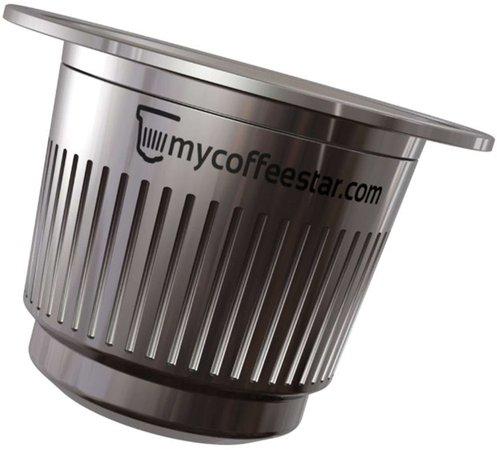 mycoffeestar Nachfüllbare Kaffee-Kapsel (Nespresso)