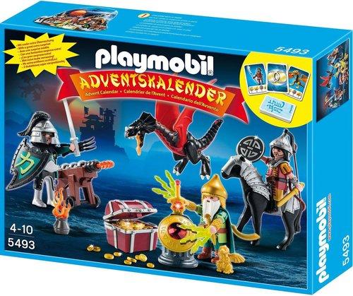 Playmobil Adventskalender Kampf um den Drachenschatz (5493)
