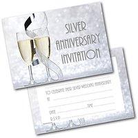 5 Einladungskarten Klappkarten Goldene Hochzeit mit Innentext 72-7317