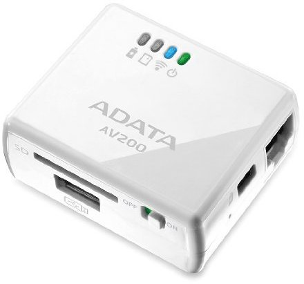 A-Data DashDrive Air WiFi Cardreader (AAV200-CWH)