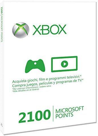 Microsoft Xbox Live Punkte-Guthabenkarte