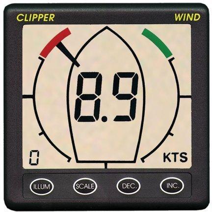 Nasa Marine Instruments Clipper Wind Repeater