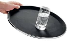 Esmeyer Serviertablett Safe schwarz 40 cm