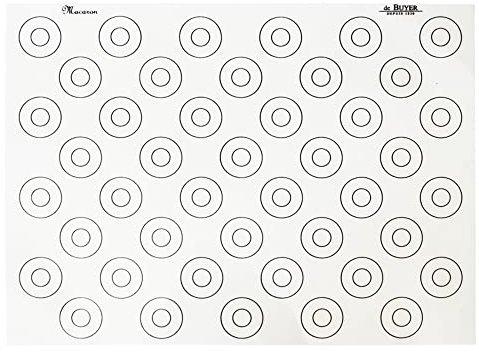 De Buyer Backmatte 40 x30 cm mit Markierung