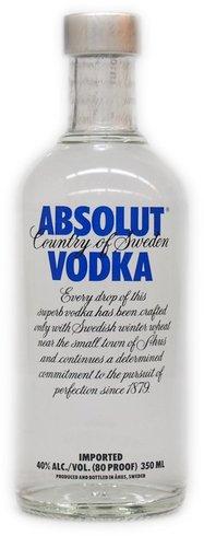 Absolut Vodka 40% 0,35 l